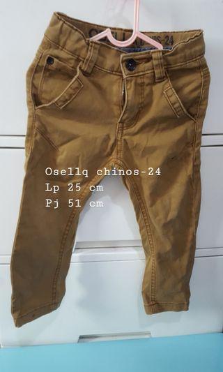 Celana panjang osella anak cowok brown