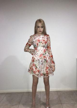 Thurley floral dress