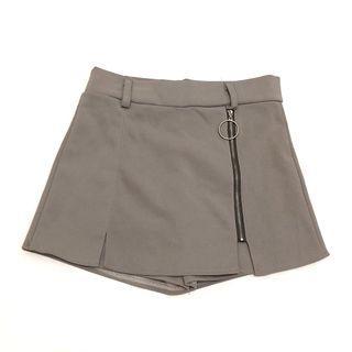 灰色顯瘦假裙褲子💕(點開有更多圖)