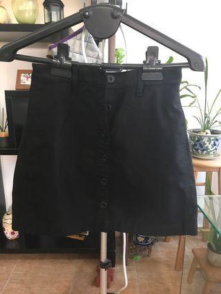 Uniqlo U Black Skirt