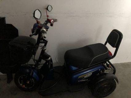 Powerful 3 wheeler mobile e bike