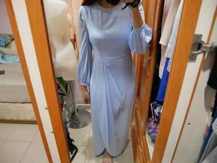 Doublewoot baby blue long dress