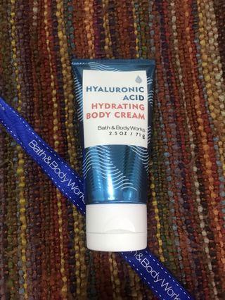 Bath & Body Works Hyaluronic Acid Hydrating Body Cream