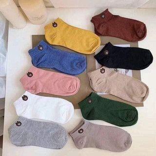 可愛小熊襪