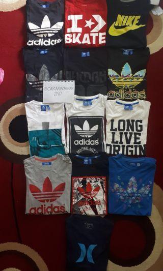 T-shirt Adidas, Nike, Converse, Champion - All Variant