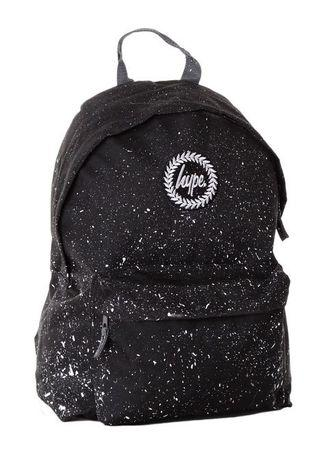 🚚 Hype Black with White Speckle Backpack
