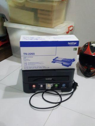 🚚 Brother printer with new toner