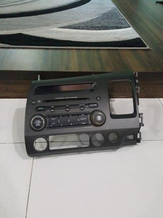 Honda civic radio console
