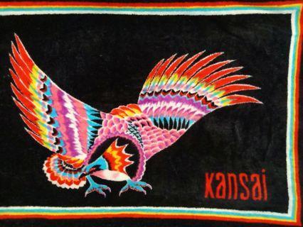 Vintage kansai yamamoto towel