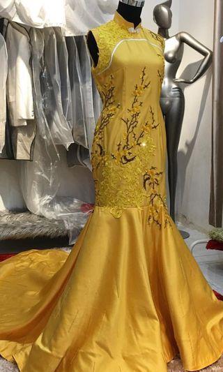 Wedding gown , prewedding gown, evening dress , duyung