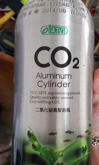 co2氣瓶含單錶電磁閥