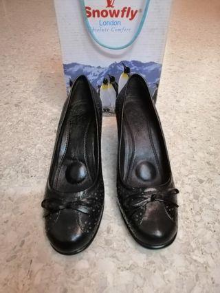 Snowfly Leather Shoes#GayaRaya