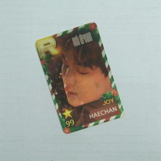 [WTS] NCT DREAM Haechan Joy Lenticular Photocard