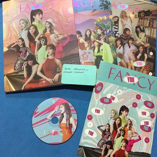 Twice Fancy You Official Album Sana CD