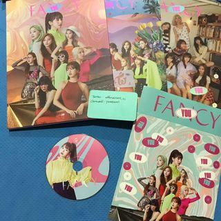 Twice Fancy You Official Album Mina CD