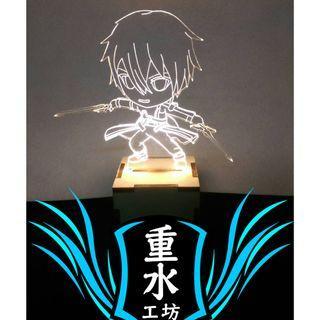 刀劍神域 公仔 LED 小夜燈 氣氛燈 裝飾燈