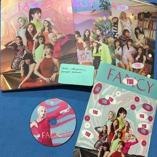 Twice Fancy You Official Album Chaeyoung CD
