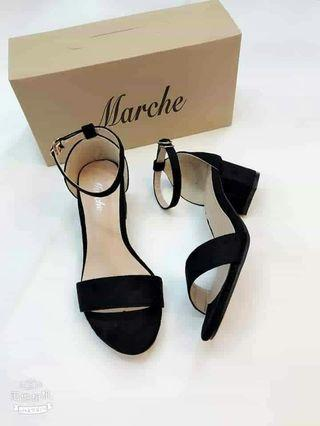 2inches ankle block heels