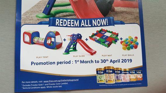 BNIB Friso Playground Set