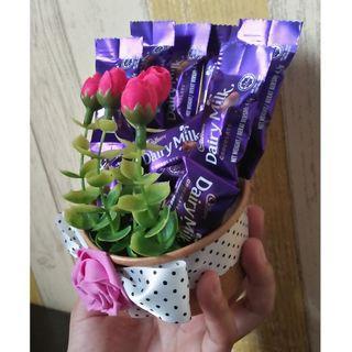 Mini cup cadbury bouquet