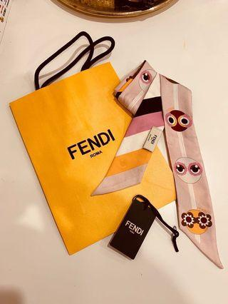 Fendi twilly scarf