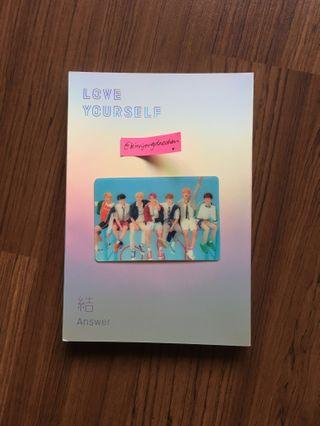[READYSTOCK] BTS ANSWER ALBUM SPECIAL PHOTOCARD / PC