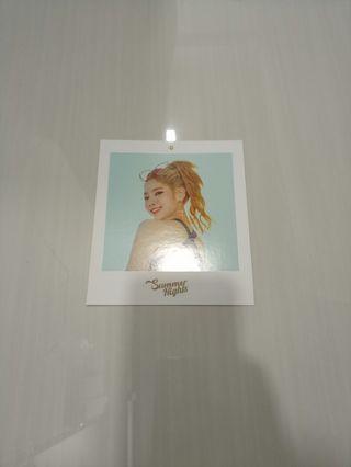 Twice Summer Night Dahyun polaroid