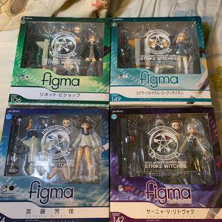 Figma Strike Witches Set 074 106 142 149