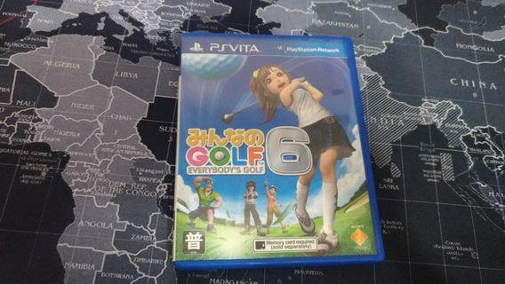 (PSV) 大家的高爾夫球6 日文版