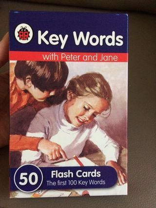 Peter and Jane flashcard