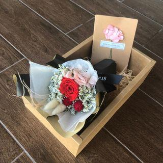 🚚 Eternal Flower | Preserved Rose | Mother's day bouquet | 母親節 干花 花束