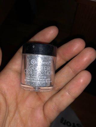 Loose glitter Eyeshadow (silver)