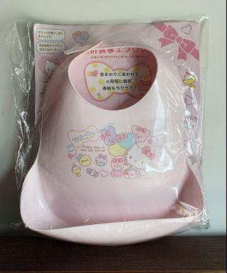 [包平郵]Hello Kitty Baby bib 嬰兒口水肩