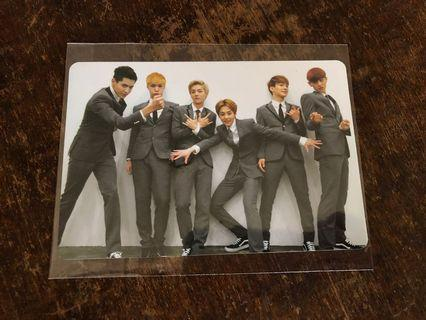 EXO M OT6 GROWL PHOTOCARD
