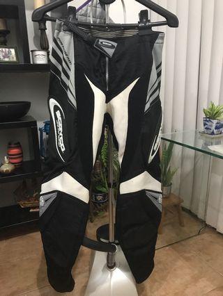 Racing Suit Scoyco Dirt Bike Motorcross Pants Black Padding