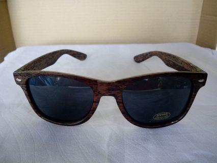 Sunglass wood design