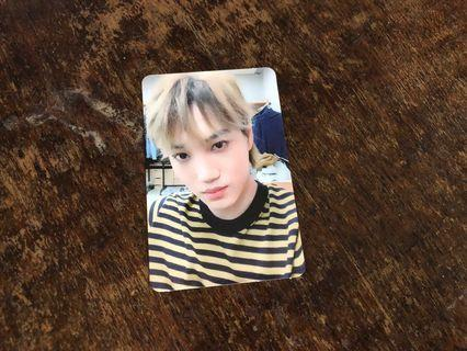 EXO LOVE SHOT KAI SHOT VERSION PHOTOCARD