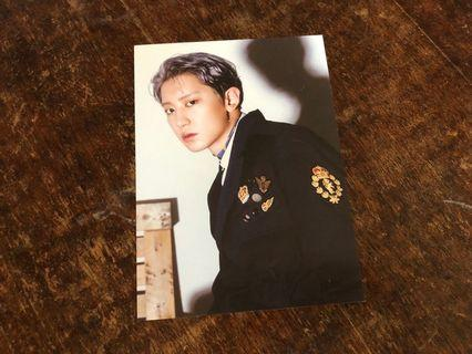 EXO CHANYEOL DON'T MESS UP MY TEMPO POSTCARD
