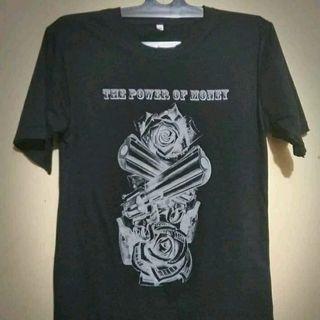 t-shirt the power of money