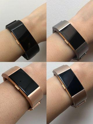 Fitbit Charge 2 Milanese Straps