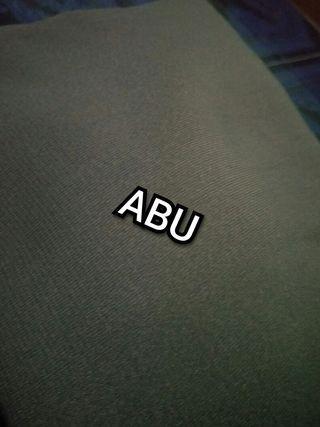 #BAPAU Jilbab segiempat wolfis 130x130 Abu