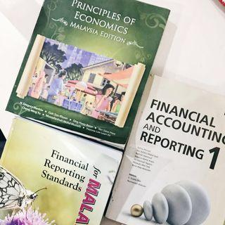 Financial Accounting and Reporting, Financial Reporting Standards, Principles of Economics (Malaysia Edition)