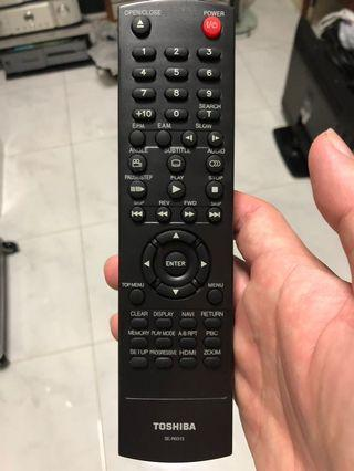 Toshiba DVD Remote Control