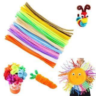 10 pcs/set per colour Chenille Stems Pipe Cleaners