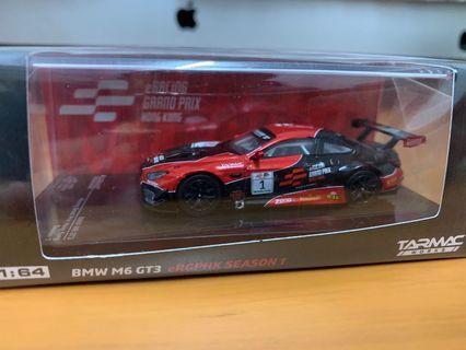 全新未開封 Tarmac Works 1/64 BMW M6 GT3 (Not Tiny Ignition model tomica)