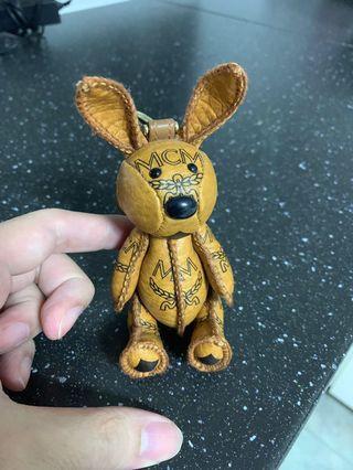 Mcm Rabbit Keychain