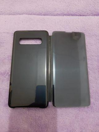 Clear View Cover Samsung Galaxy S10 Original