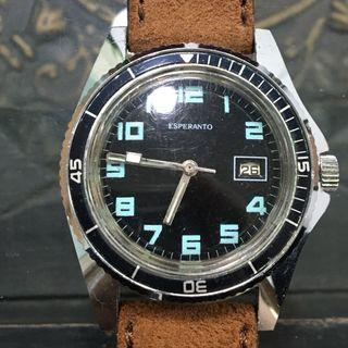 Vintage Esperanto Divers Watch