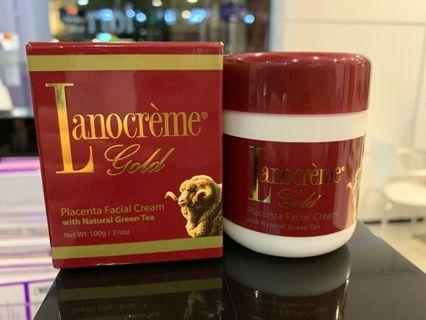 Placenta Facial Cream with Natural Green Tea 100g