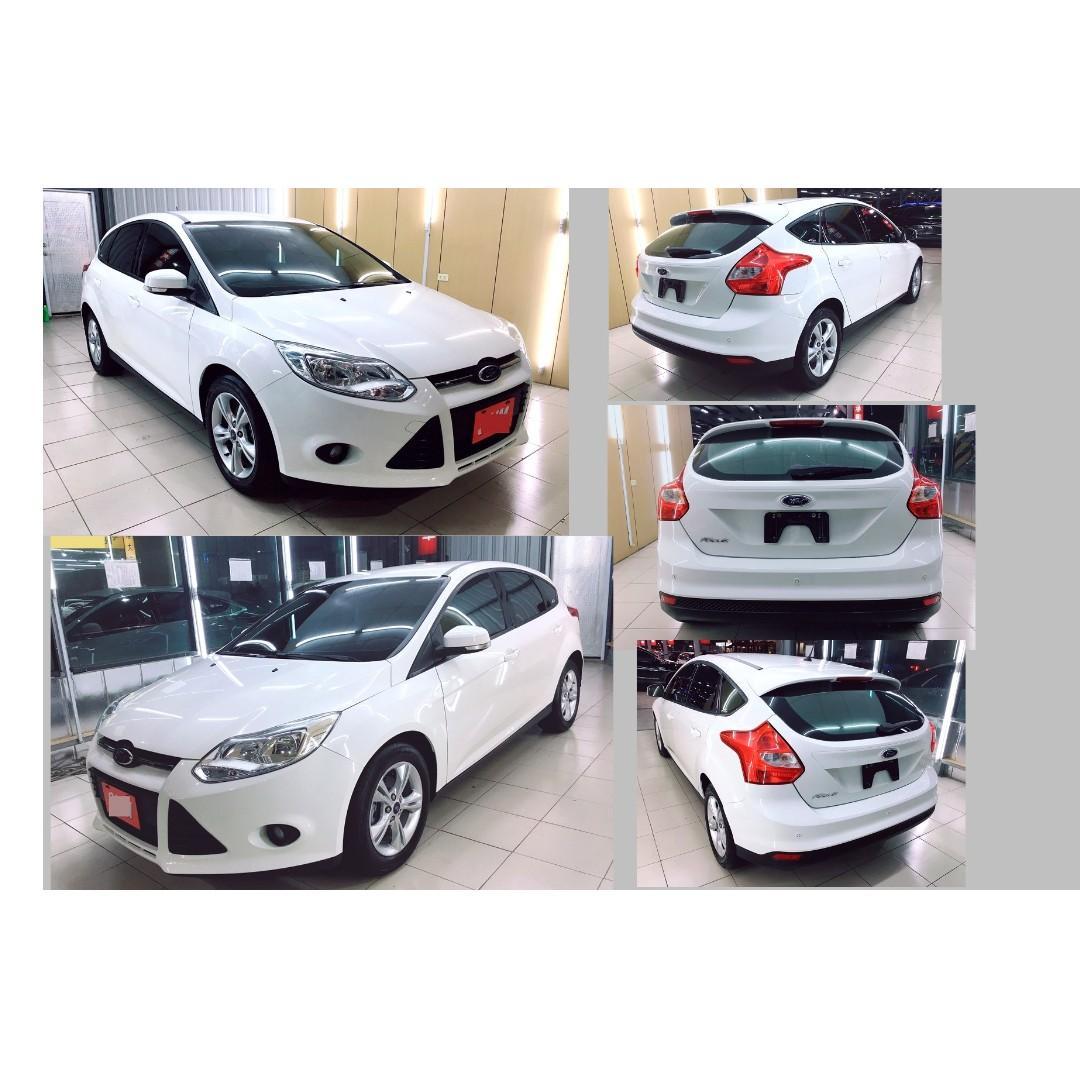 2013年 福特  FOCUS  1.6  白色
